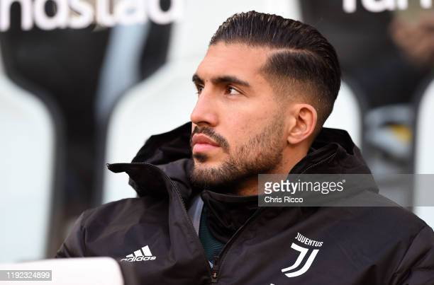 Emre Can of Juventus during the Serie A match between Juventus and Cagliari Calcio at Allianz Stadium on January 6 2020 in Turin Italy
