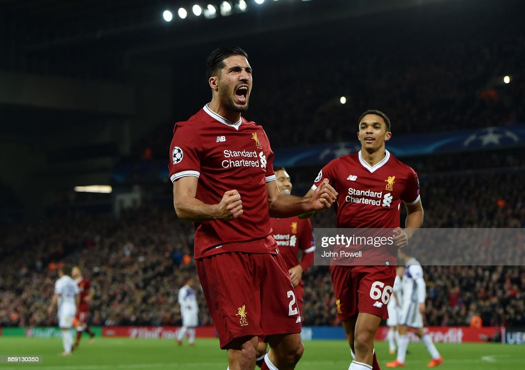 Liverpool FC v NK Maribor - UEFA Champions League : News Photo