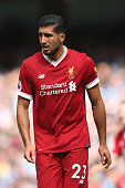 manchester england emre can liverpool during