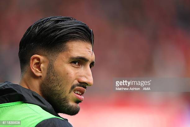 Emre Can of Liverpool during the Premier League match between Swansea City and Liverpool at Liberty Stadium on October 1 2016 in Swansea Wales