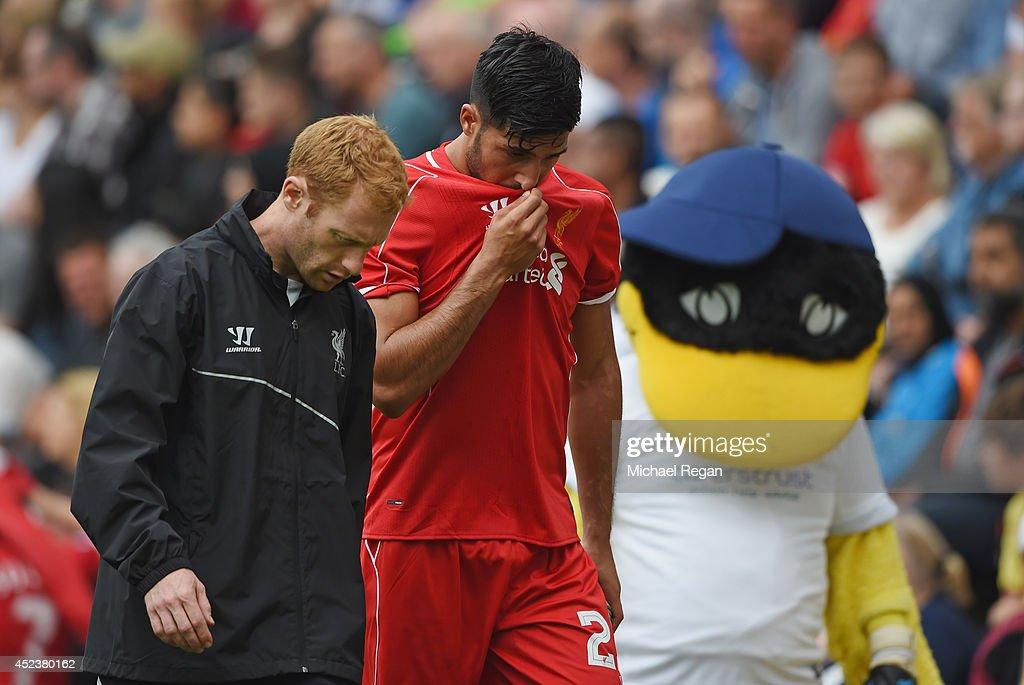 Preston North End v Liverpool - Pre Season Friendly : News Photo