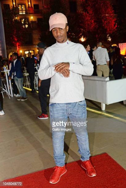 Emtee during the exclusive launch of AKA Beam World App powered by Vodacom at the Pivot Montecasino on Johannesburg South Africa AKA officially...