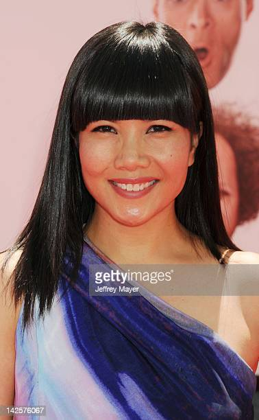 Emy Coligado attends the Los Angeles premiere of The Three Stooges on April 7 2012 in Hollywood United States