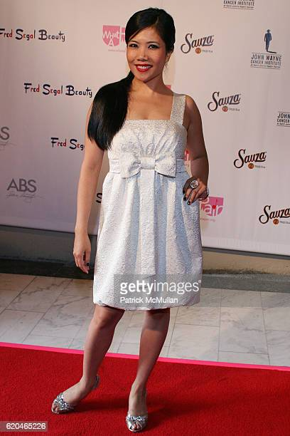 Emy Coligado attends What A Pair 6 John Wayne Cancer Institute Benefit at Orpheum Theatre on June 8 2008 in Los Angeles CA