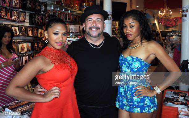 Emy Reyes James Bartholet And Yasmine De Leon Participate In Bizzy B Hosts Instore Signing Of
