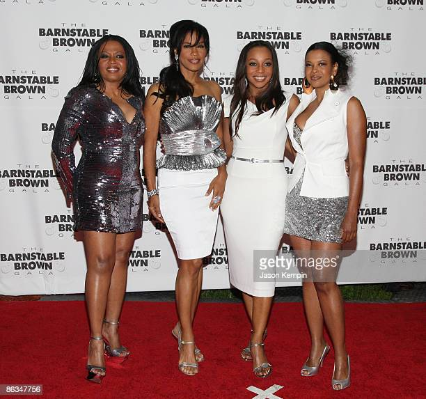 En Vogue attends the Barnstable Brown Party Celebrating The 135th Kentucky Derby at Barnstable Brown House on May 1 2009 in Louisville Kentucky