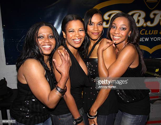 En Vogue backstage at BB King Blues Club Grill on May 10 2009 in New York City