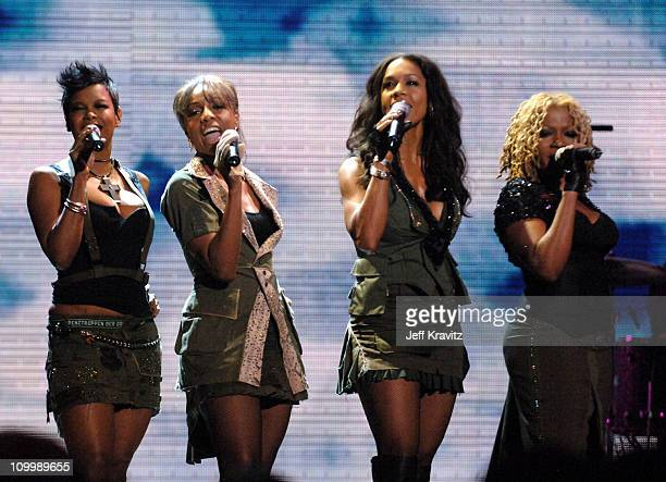 En Vogue during 2005 VH1 Hip Hop Honors Show at Hammerstein Ballroom in New York City New York United States