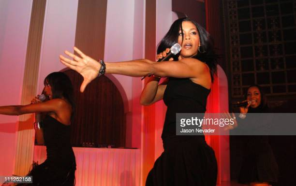 En Vogue during Hollyrod Lounge at the Majestic Metro Theater at Majestic Metro Theater in Houston Texas United States