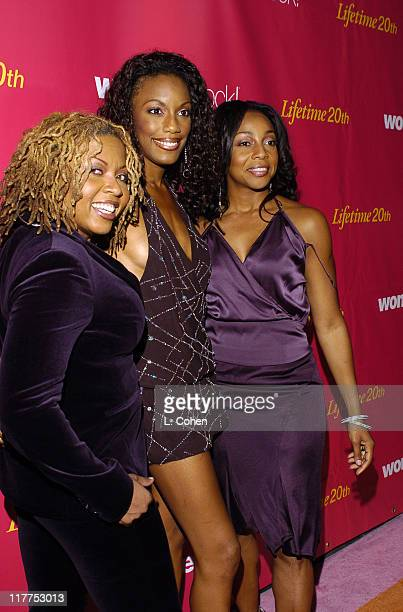 En Vogue during WomenRock LIFETIME Televsion Fifth Annual Signature Concert Orange Carpet at Wiltern LG Theater in Los Angeles California United...