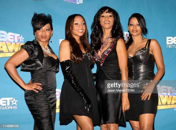 En Vogue in the press room at the 2008 BET Awards at the Shrine Auditorium on June 24 2008 in Los Angeles California