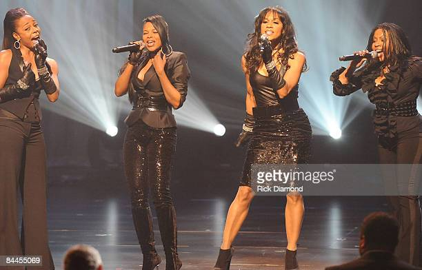 En Vogue performs at the 17th Annual Trumpet Awards at the Cobb Energy Performing Arts Centre on January 25 2009 in Atlanta Georgia