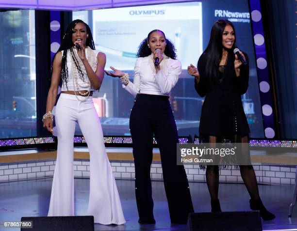 AMERICA En Vogue performs live on 'Good Morning America' Thursday May 4 2017 airing on the ABC Television Network EN