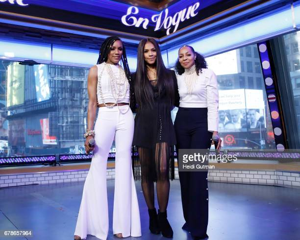 AMERICA En Vogue performs live on Good Morning America Thursday May 4 2017 airing on the Walt Disney Television via Getty Images Television Network EN
