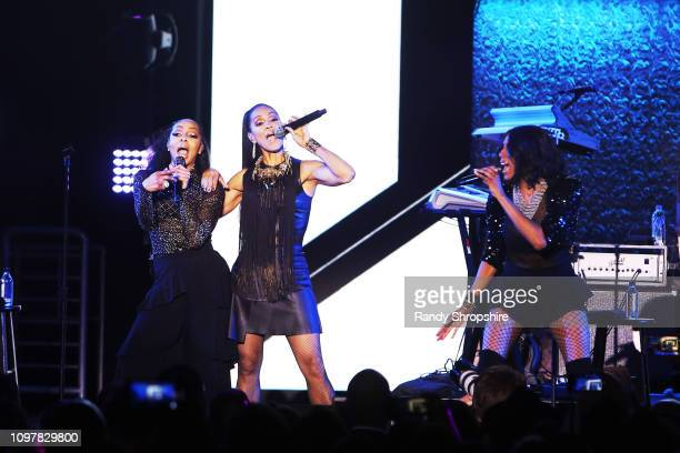 En Vogue performs onstage at the GRAMMY Celebration during the 61st Annual GRAMMY Award at Staples Center on February 10 2019 in Los Angeles...