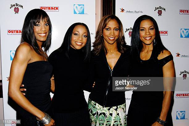 En Vogue with Holly Robinson Peete during Hollyrod Lounge at the Majestic Metro Theater at Majestic Metro Theater in Houston Texas United States