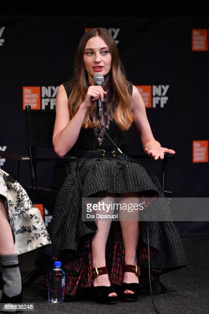 Ena Talakic takes part in a QA following a screening of Hall of Mirrors during the 55th New York Film Festival at The Film Society of Lincoln Center...