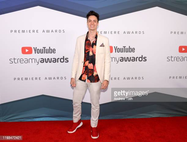 Enaldinho attends the 2019 Streamys Premiere Awards at The Broad Stage on December 11 2019 in Santa Monica California