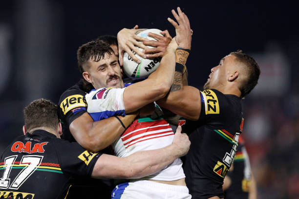 AUS: NRL Rd 7 - Panthers v Knights