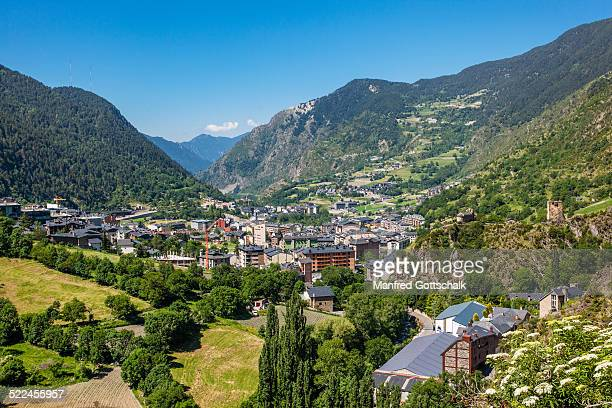 encamp in the principality of andorra - andorra stock pictures, royalty-free photos & images