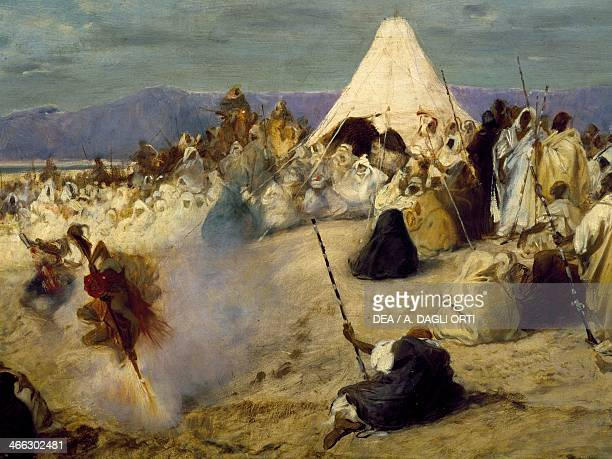 Encampment of nomadic bedouins by Stefano Ussi