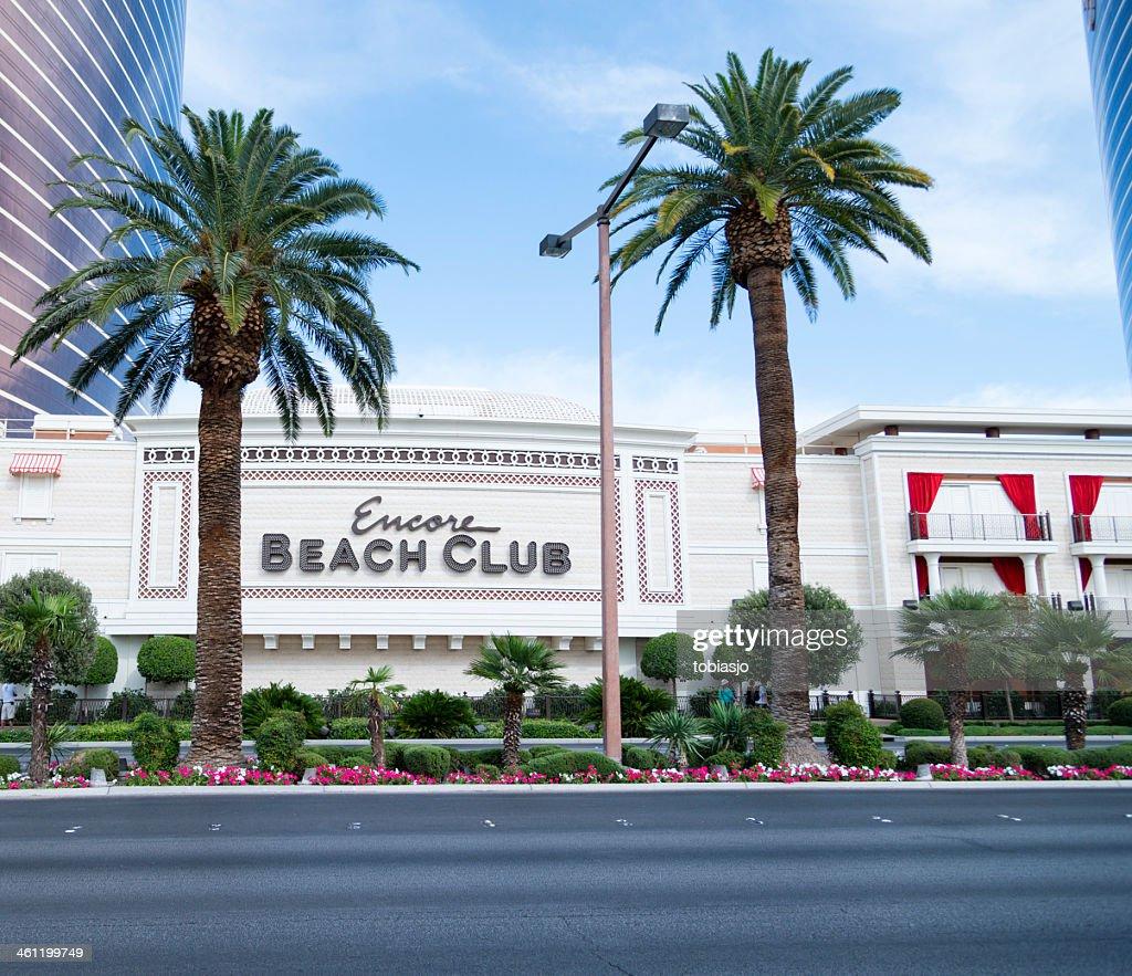 Encore Beach Club Las Vegas Strip Stock Photo