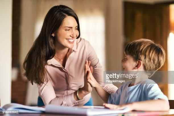 Ermutigung ist entscheidend für den Lernprozess