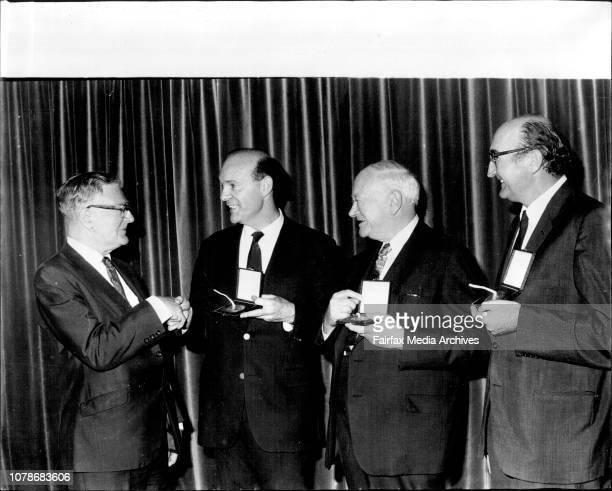Encyclopedia Britannica Australia Awards for 1973 Award winners are Arts Mr J Sumner CBEHumanities Professor A d Trendall CMG KCSG Litt D Sciences Dr...