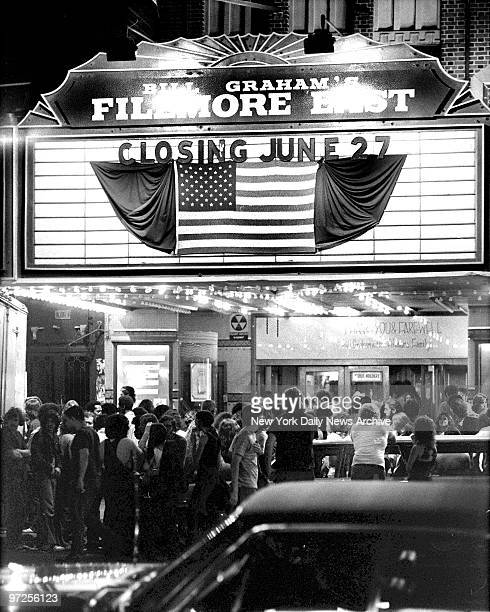 End of an Era Fillmore East byinvitationonly tickets rockfest hip impresario Bill Graham padlocked the former Second Avenue movie house that he had...