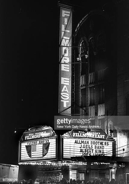 End of an Era Fillmore East byinvitationonly tickets rockfest hip impresario Bill Graham padlocked the former Second Avenue movie house that he had...