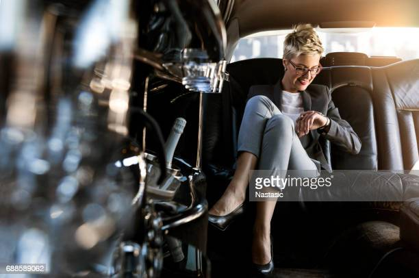 end of business day - limousine stock pictures, royalty-free photos & images