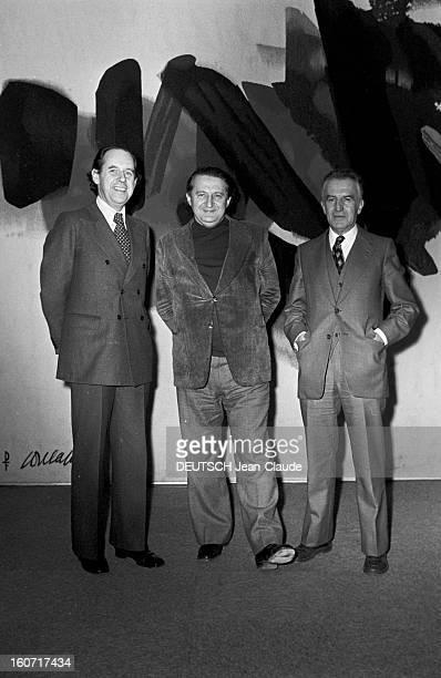 The Directors Of Three New Channels Paris 30 Décembre 1974 Lors de la création des trois nouvelles chaînes nationales de gauche à droite les...