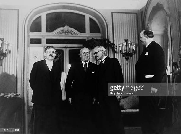 End Of Stresa Conference In Italy On April 17Th 1935