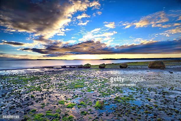 end of the day - pelluhuin - puerto montt - fotografias e filmes do acervo