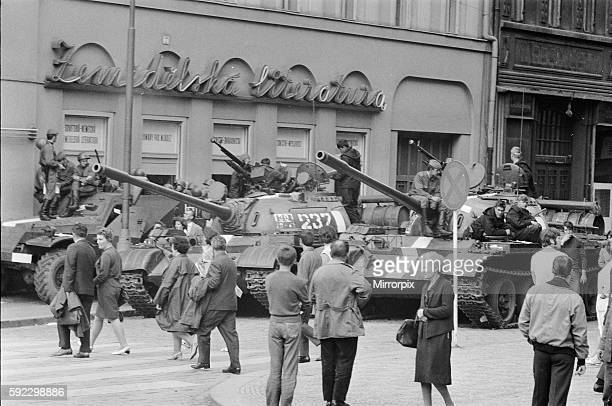 End of the Prague Spring, a period of political liberalization in Czechoslovakia during the era of its domination by the Soviet Union after World War...