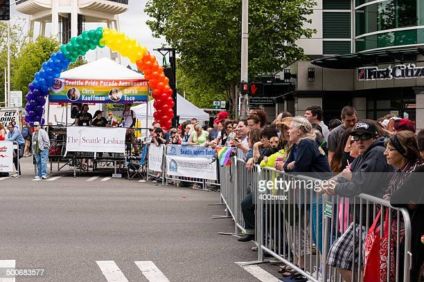 End of the Pride Parade