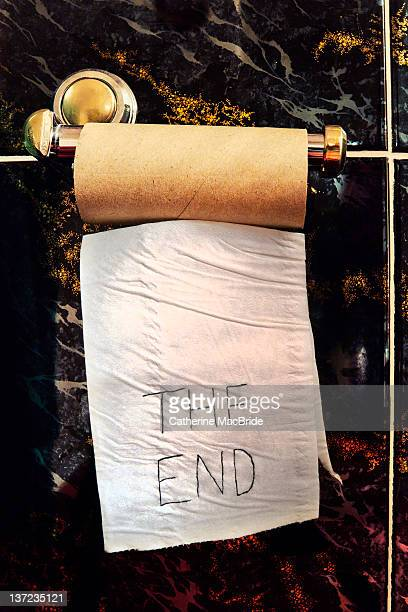 End of toilet roll