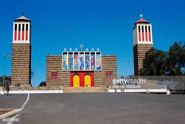 Enda Mariam Coptic cathedral Asmara, Eritrea, 20th century.