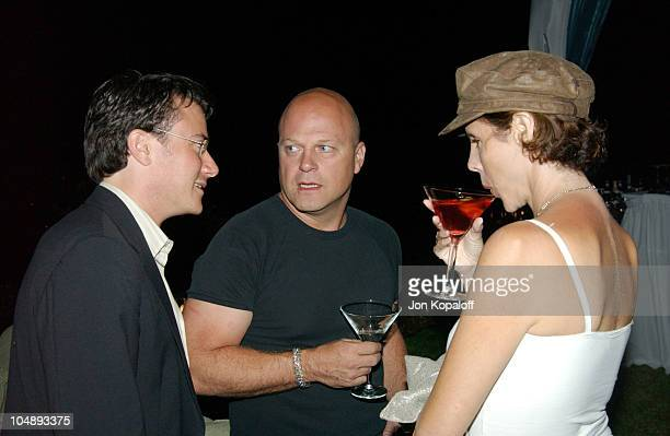Endeavor Agent Greg Siegel Michael Chiklis and wife Michelle Moran