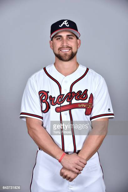 Ender Inciarte of the Atlanta Braves poses during Photo Day on Tuesday February 21 2017 at Champion Stadium in Lake Buena Vista Florida
