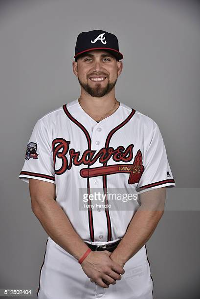 Ender Inciarte of the Atlanta Braves poses during Photo Day on Friday February 26 2016 at Champion Stadium in Lake Buena Vista Florida