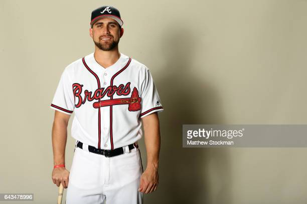 Ender Inciarte poses for a portrait during Atlanta Braves Photo Day at Champion Stadium on February 21 2017 in Lake Buena Vista Florida