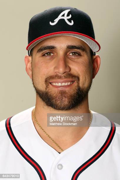 Ender Inciarte poses for a portrait during Atlanta Braves Photo Day at Champion Stadium on February 21, 2017 in Lake Buena Vista, Florida.