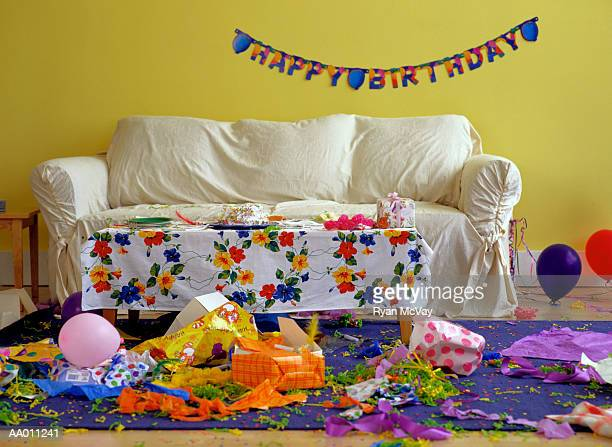Ending of a Birthday Party