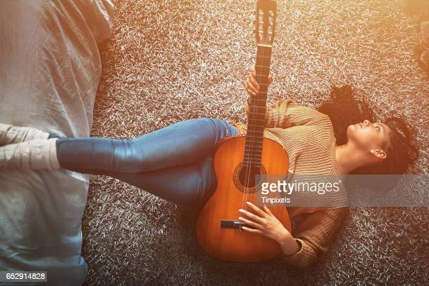 ending the day on a musical note - broken heart stock pictures, royalty-free photos & images