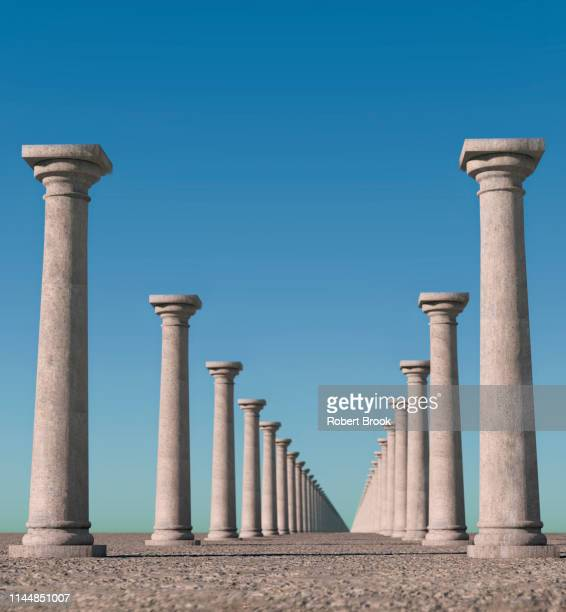 endless columns. - column stock pictures, royalty-free photos & images
