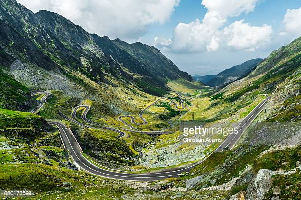 Endless Curvy Mountain Road