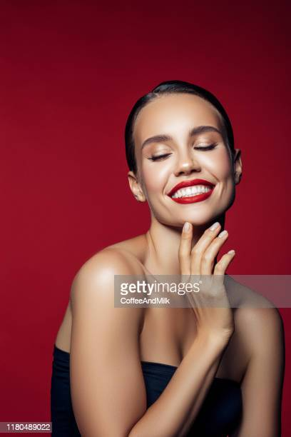 endless joy - lipstick stock pictures, royalty-free photos & images