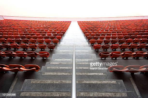 Endless red chairs