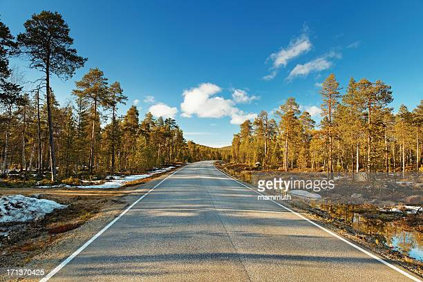 endless road - empty road stock pictures, royalty-free photos & images